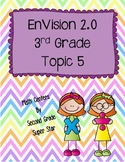 Envision 2.0 Math Centers Grade 3 Topic 5