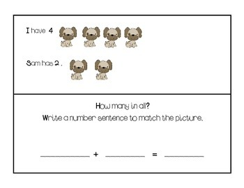 Kindergarten Envision Math Centers Topic 7