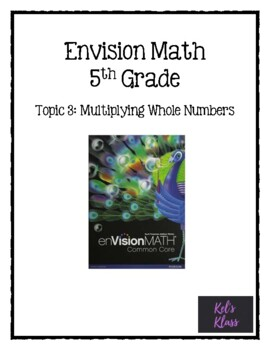 Envision Math Chapter 3