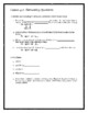 Envision Math Chapter 4