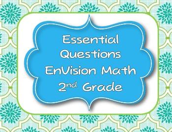 Envision Math Essential Questions