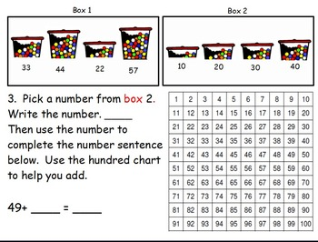 Envision Math First Grade Topic 10 for SMARTBOARD