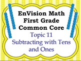 Envision Math First Grade Topic 11 for SMARTBOARD