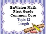 Envision Math First Grade Topic 12 for SMARTBOARD