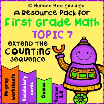 Grade 1 Math - Topic 7: Extend The Counting Sequence