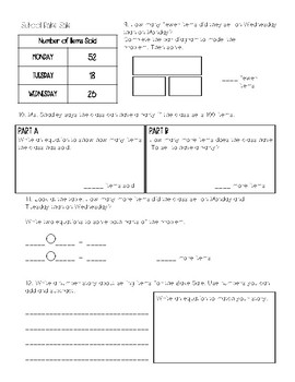 Envision Math Grade 2 - Topic 7 REVIEW