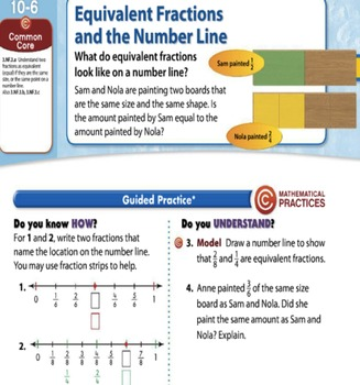 Envision Math Grade 3 Topic Lessons 10.4 through 10.9