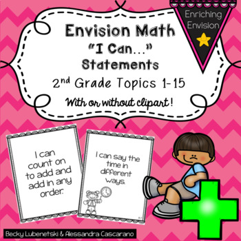 Envision Math I Can Objectives 2nd Grade