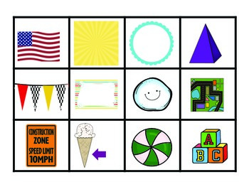 Envision Math Kindergarten Centers (Topic 14: Shapes)