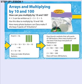 Envision Math Step Up to 4th Grade