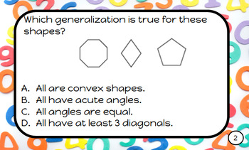 Envision Math-Task Cards for Plickers-Topic 11