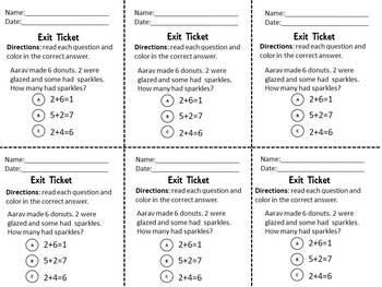 Envision Math Topic 1.5- Introducing Addition Expressions and Number Sentences