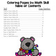 Envision Math Topic 1 Color By Number Activities
