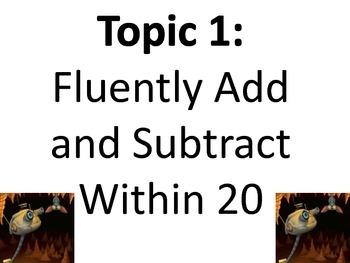 Envision Math Topic 1 Concept Board Grade 2