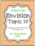 Envision Math Topic 10 Supplemental Activities - First Grade