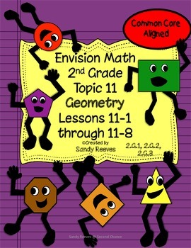 Envision Math Topic 11 Geometry (2010) 2nd Grade CCSS