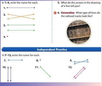 Envision Math Topic 11- third grade