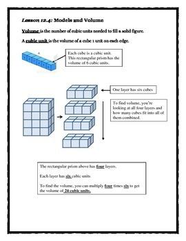 Envision Math Topic 12