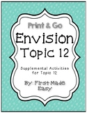 Envision Math Topic 12 Supplemental Activities - First Grade
