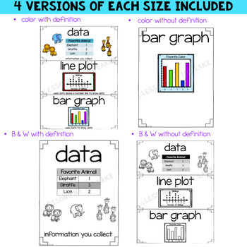 Envision Math Topic 14 Vocabulary Cards~ 2nd Grade