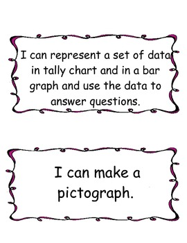 Envision Math Topic 16-20 Common Core/I Can Statements/Planning/PLC
