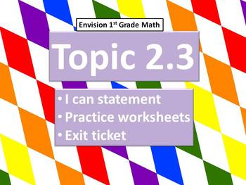 Envision Math Topic 2.3- Finding Missing Parts of 9