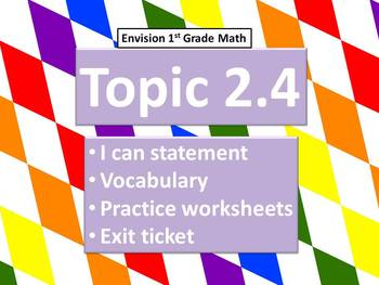 Envision Math Topic 2.4- Introducing Subtraction Expression and Number Setences