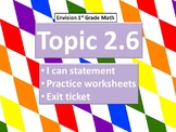 Envision Math Topic 2.6- Stories About Compare