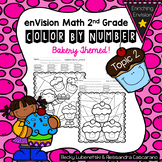 Envision Math 2.0 Topic 2 Color By Number Activities 2nd Grade