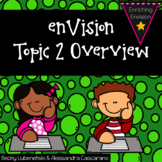 Envision Math 2.0 Topic 2 Overview~ 2nd Grade