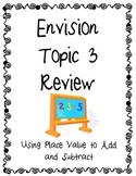 Envision Math Topic 3 Review - Third Grade