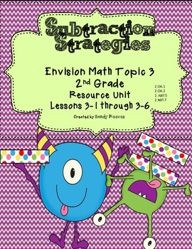 Envision Math Topic 3 Second Grade Common Core