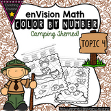 Envision Math Topic 4 Color By Number Activities 2nd Grade