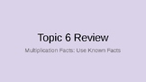 Envision Math Topic 6 Review