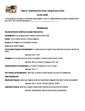 Envision Math Topic 6 Study Guide