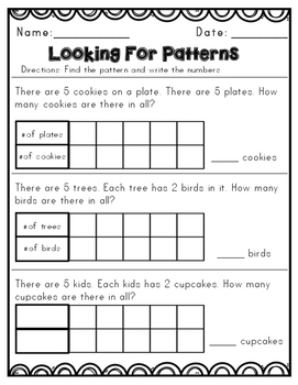 Envision Math Topic 7 Supplemental Activities - First Grade