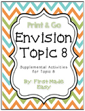 Envision Math Topic 8 Supplemental Activities-First Grade