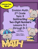 Envision Math Topic 9 (2010) Subtracting Two-Digit Numbers 2nd Grade Common Core