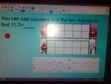 Envision Math smartboard lessons