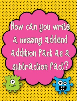 Envision Math:Topic 3: Subtraction Strategies