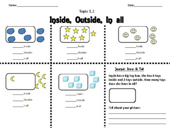 Envision Math Topic 1.2- Making 6 & 7