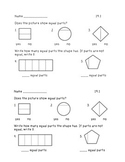 Envision Topic 19 Exit Tickets: Fractions