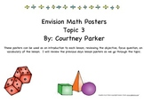 Envision Topic 3 Math Posters