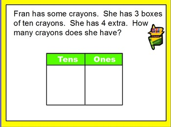 Envision Math First Grade Topic 8 for SMARTBOARD