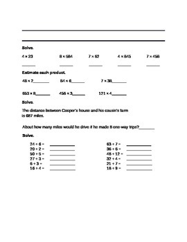 Envision Topics 1-5 Study Guide