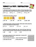 Envision Topics 3 & 4 Subtraction Test
