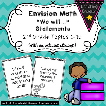 Envision We Will Objectives 2nd Grade