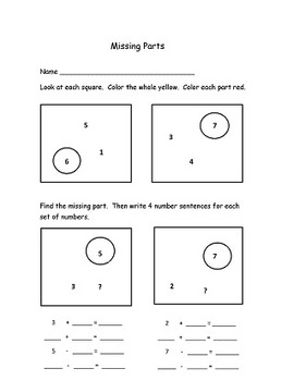 Envision math differentiated ways to make numbers first grade