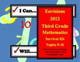 Envisions 2012 I Can I Will Statements for 3rd Grade, Part II