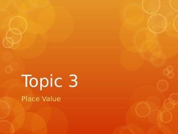 Envisions 4th Grade Topic 3